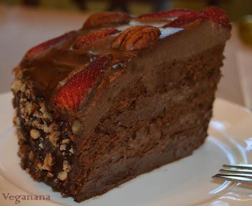 calda de chocolate a base de agua para molhar bolo