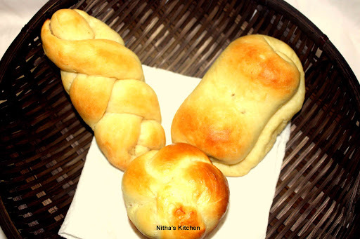 Eggless Stuffed Dinner Rolls | Soft Potato Stuffed Spicy | Khara Buns