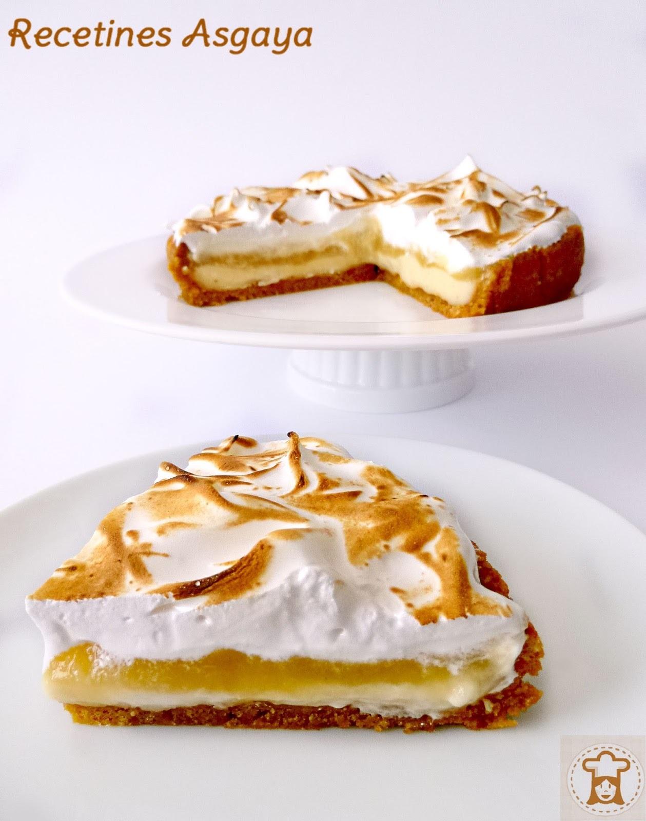 Tarta de Merengue, Manzana y Pera..¡Felicidades Degustabox!