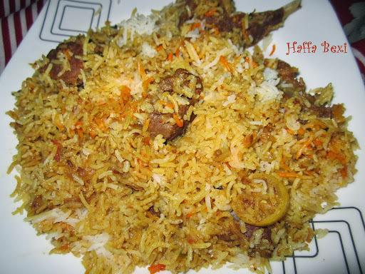 Mutton Rice (Biryani)