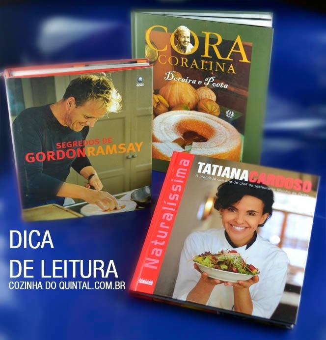 Dica de Leitura 2: Gastronomia & Culinária