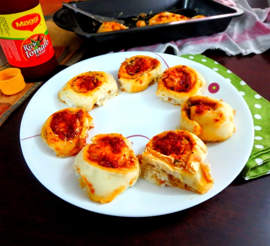 Pizza Pinwheel Recipe | Pizza Rolls