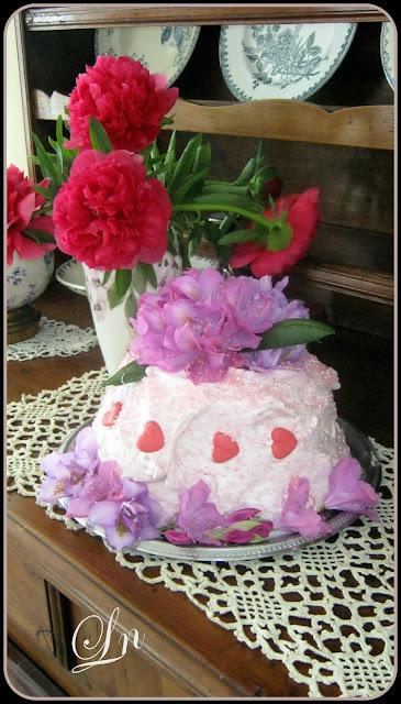 Foodista Challenge Edition Spéciale : Layer cake mascarpone cerise et fraises