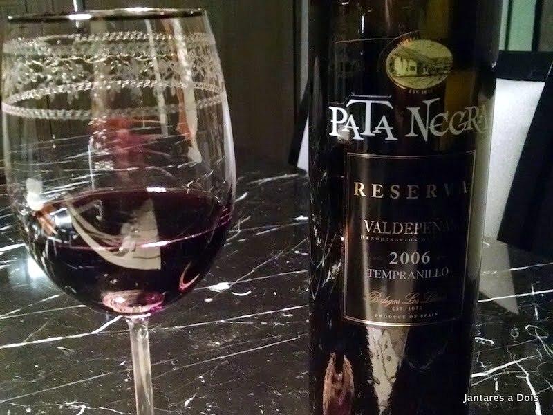 Vinho Pata Negra Reserva Tempranillo 2006