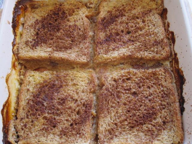 Pudim de pão diferente (vegana)