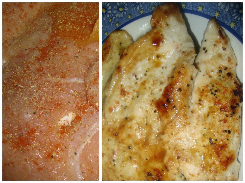 Pollo a la páprika