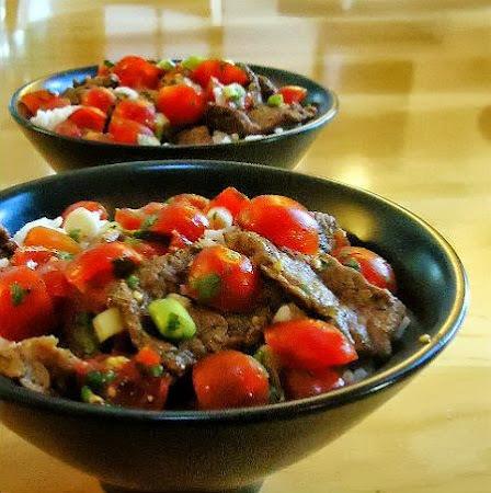 Southwestern Steak and Rice Bowls