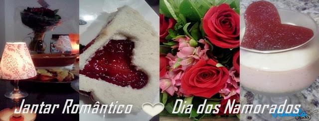 Jantar romântico Dia dos Namorados