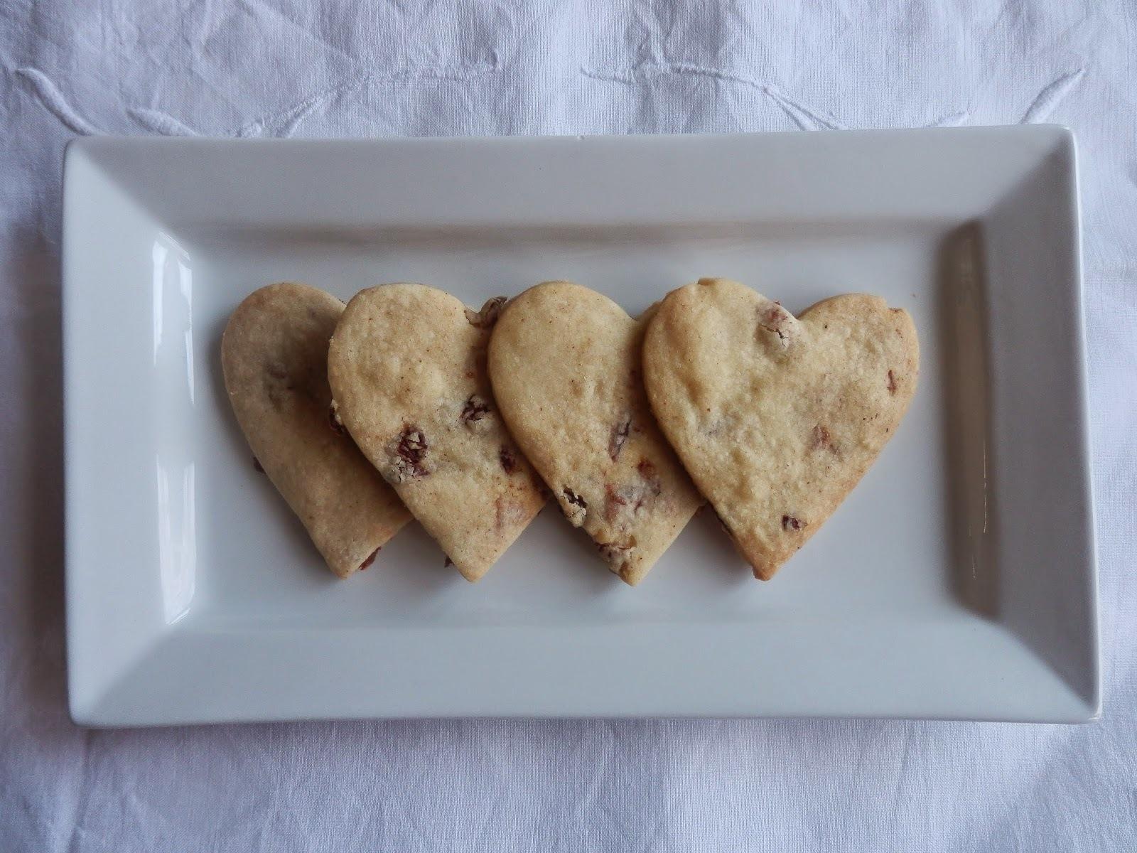 Bara Brith Spiced Shortbread for St Dwynwen's Day