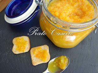 Geleia de casca de laranja com gengibre