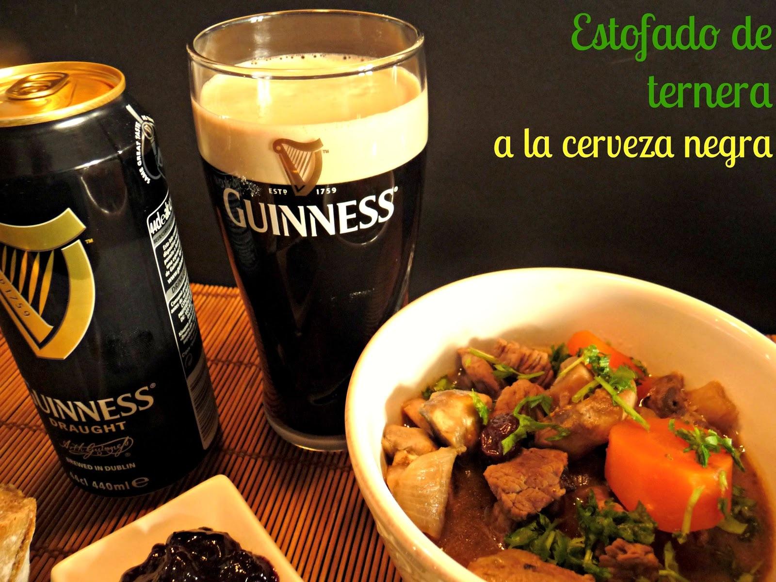 Estofado de ternera a la cerveza negra #SanPatricio