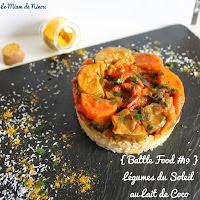 {Battle Food #19} Légumes du Soleil au Lait de Coco