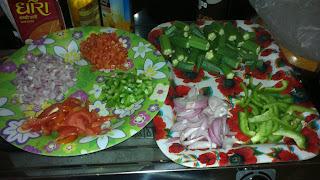 Desi Bhindi/Okra Wid Exotic Taste