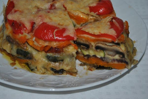 Zimná zeleninová torta