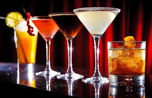 martini com cereja
