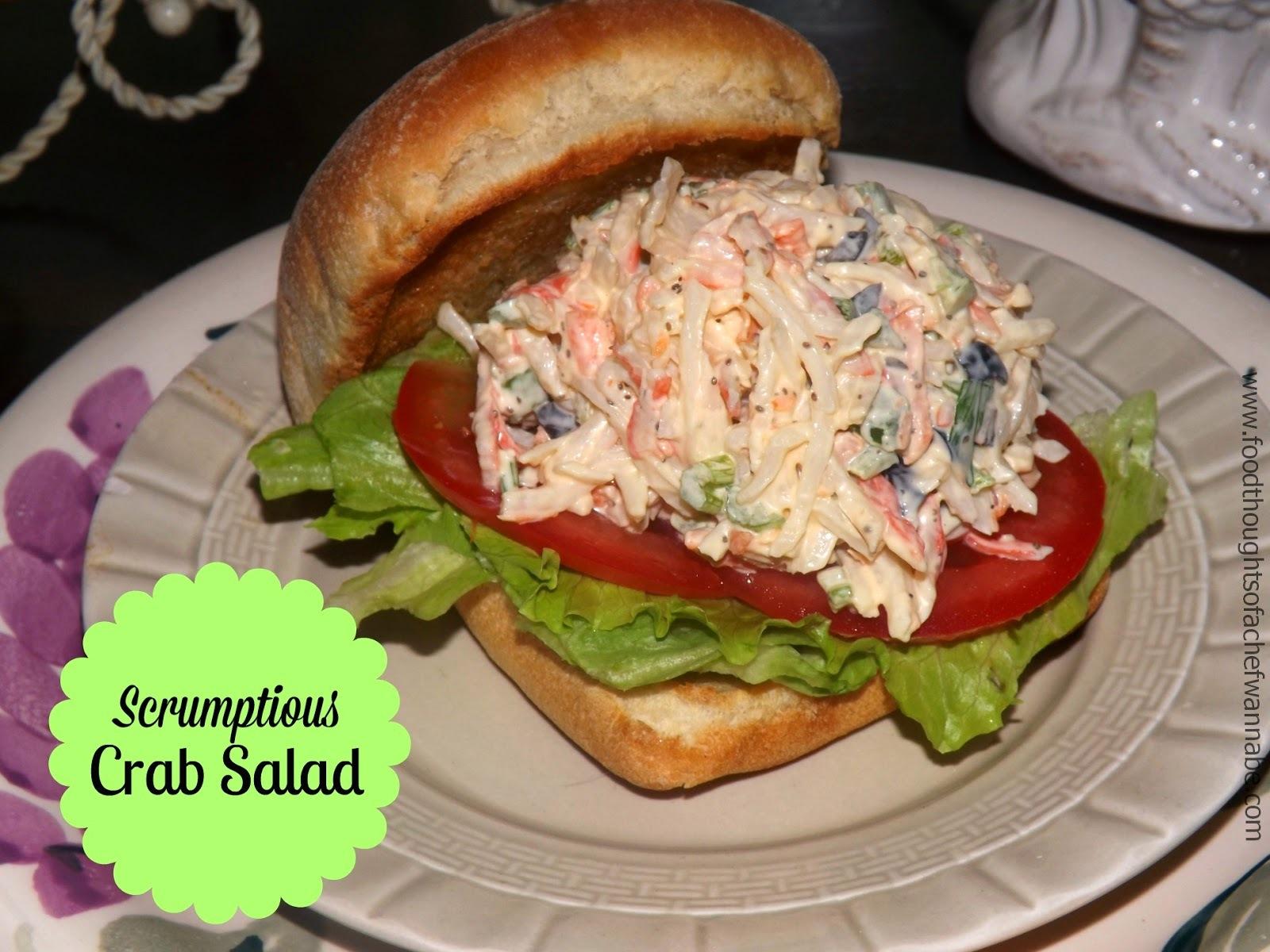 Scrumptious Crab Salad