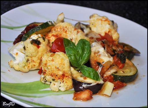 Pečená zelenina s čerstvým tymiánom