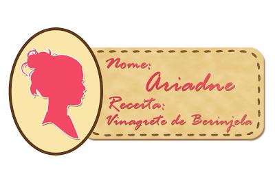 Doces Chefs: Vinagrete de Berinjela (ao forno) da Ariadne