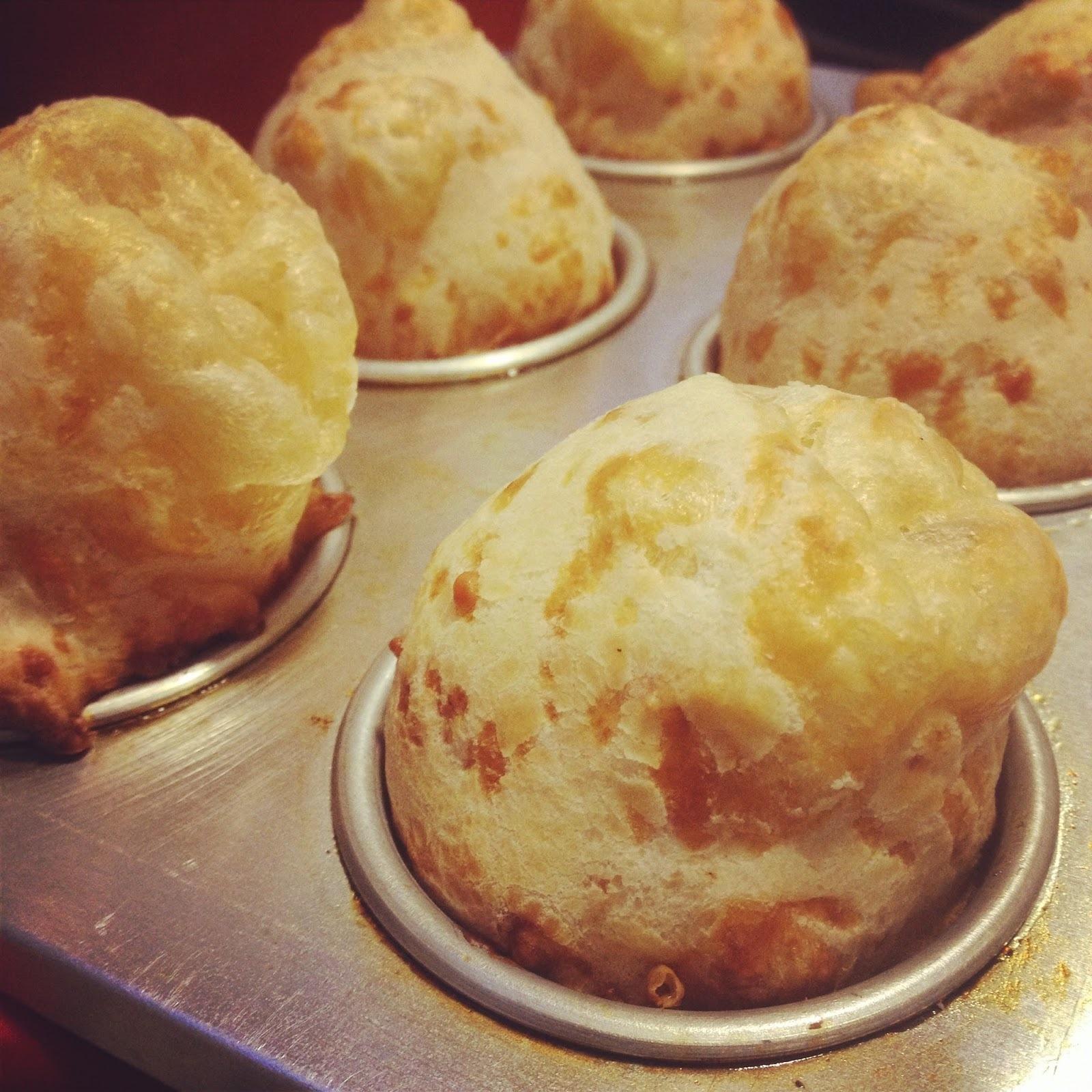 Pão de Queijo - Receita apenas com polvilho azedo