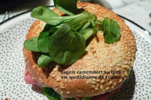 Bagels camembert au bleu