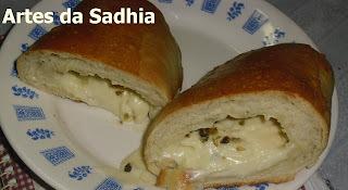 Pão com queijo cremoso Tirolez