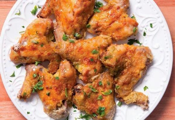 Asinha e sobrecoxa de galinha para petiscar