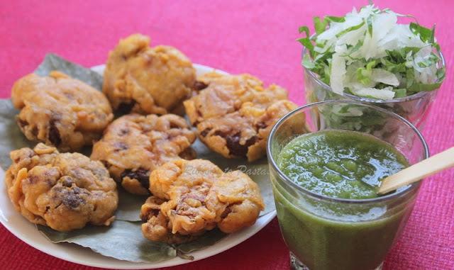 Gobhi ke Tikiya / Cauliflower Fritters
