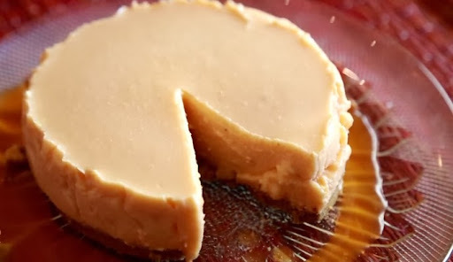 Cheesecake - Eggless Cheesecake