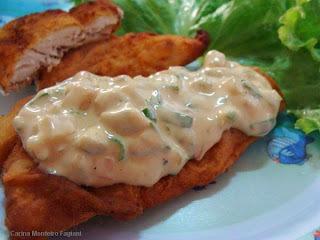 peixe frito empanado sem ovo