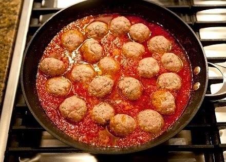 Como hacer albondigas de pollo en salsa