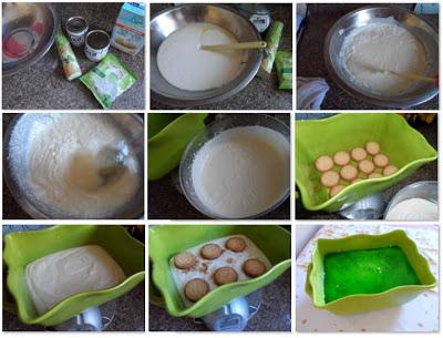 mousse de limão com gelatina e iogurte