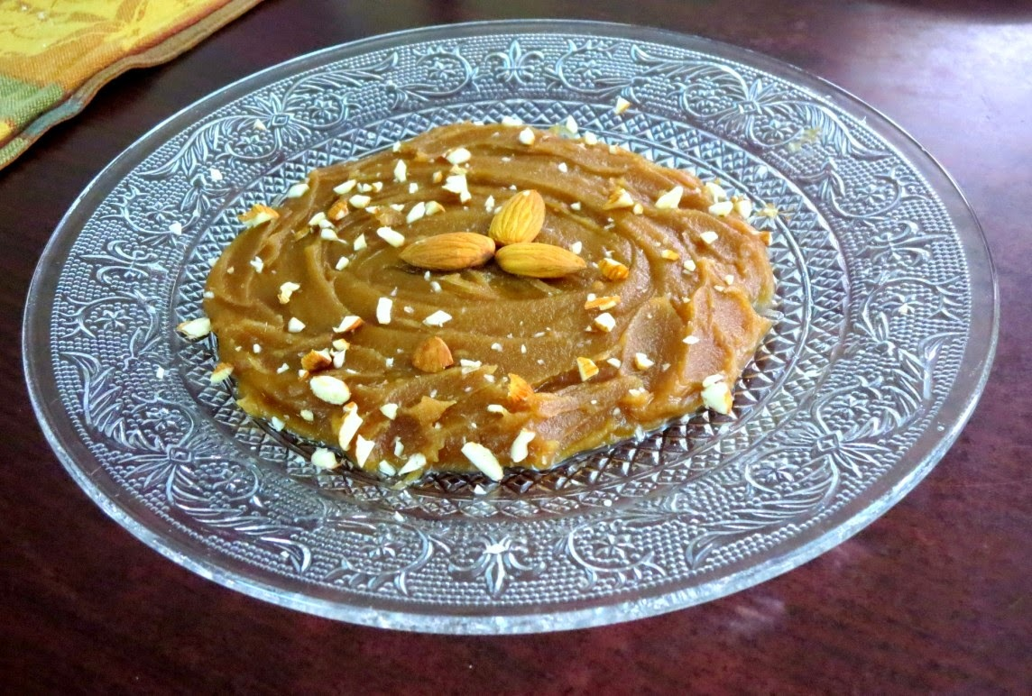 Persian Halvah ~ P for Persia