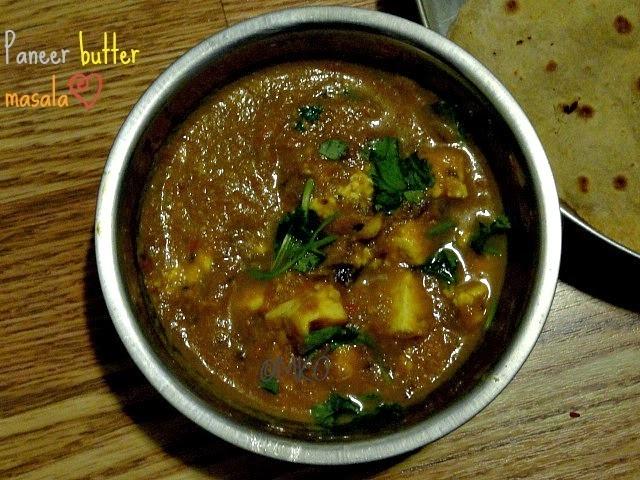 Paneer butter masala/Paneer recipes