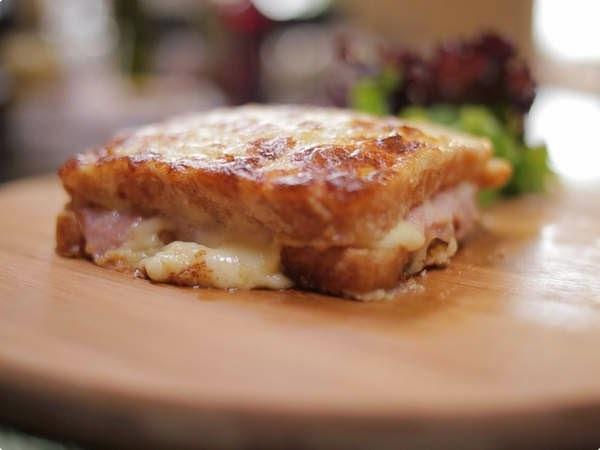 como fazer misto quente no pão frances