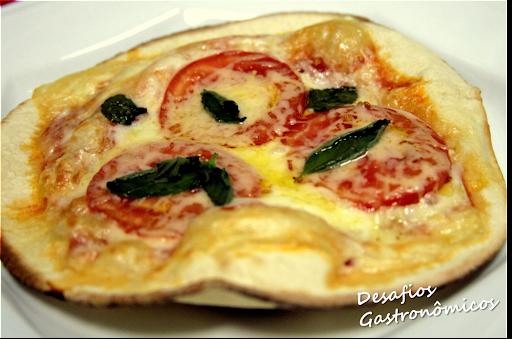 DESAFIO: Pizza Caseira de Frigideira - Margherita