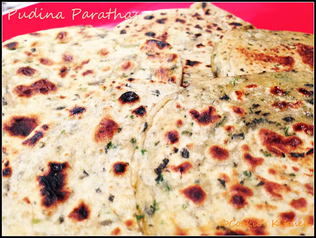 how to make pudina paratha by sanjeev kapoor