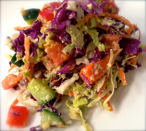 Spicy Mexican Coleslaw