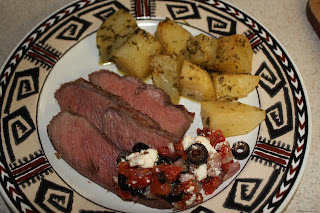 Meat and Potatoes - Greek Style