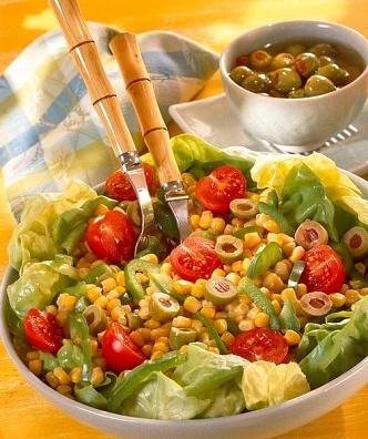 ensaladas con palmitos