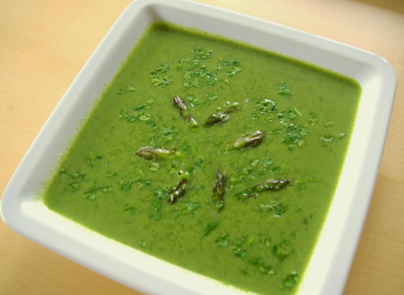 Zelená polievka - špargľová č. 4