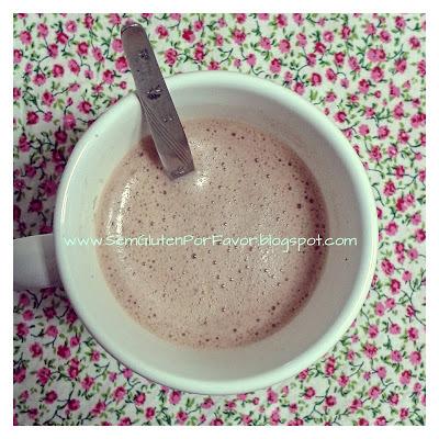 Receitinha de hoje: capuccino sem leite