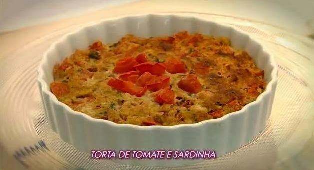 de torta espuma de tomate