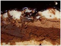 Recette Gateau 3 chocolats croustillant facile et rapide