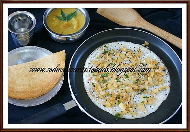 Spicy Onion Dosa | Roast