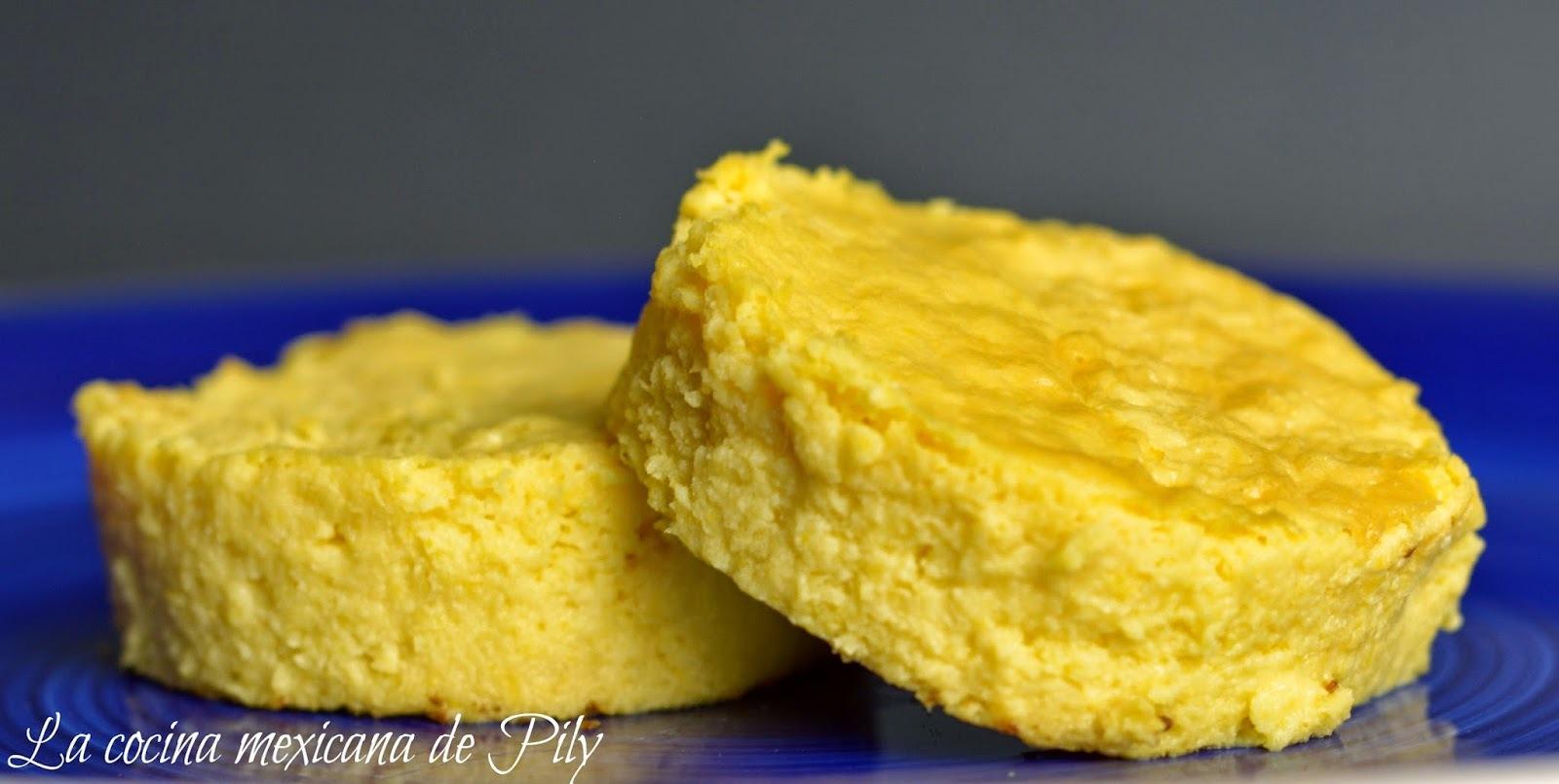 Torta de elote amarillo ¡Deliciosa!