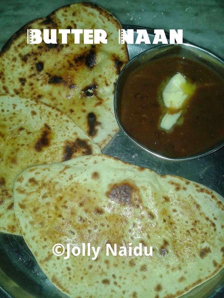 Delicious Homemade Butter Naan