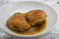 asa de frango assada com maionese