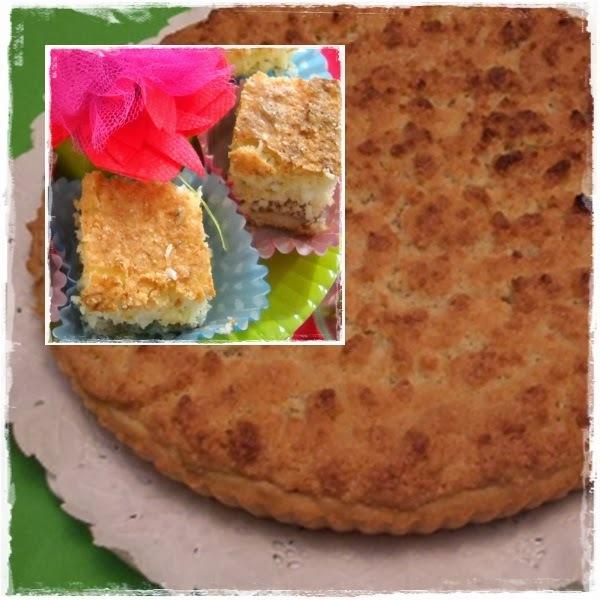 Especial: tarta de coco con dulce de leche y tartas de frutas!