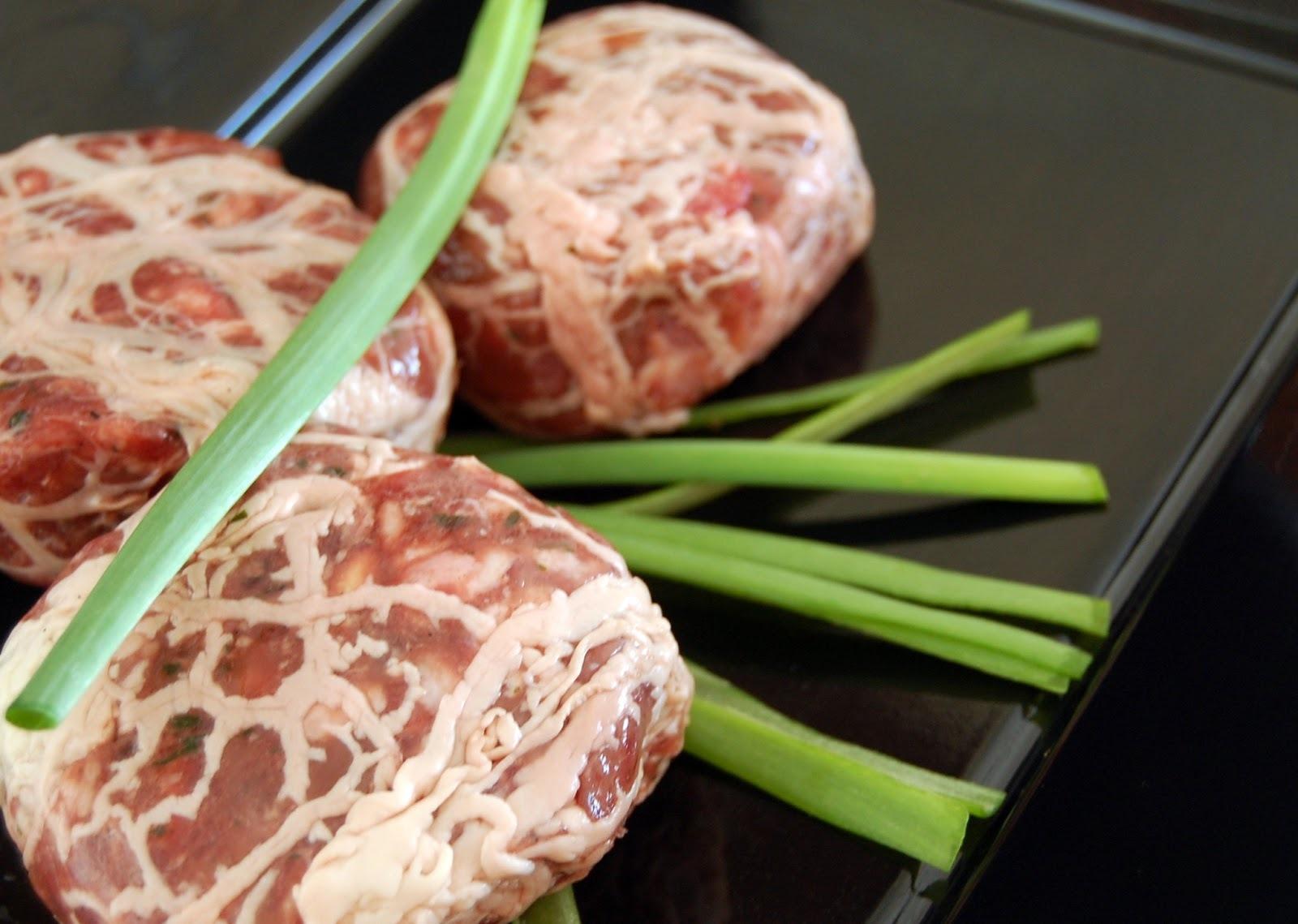 cuisiner des crépinettes de porc