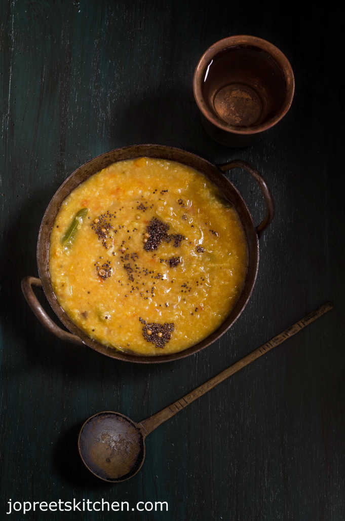 Varagu Arisi Sambar Sadam - Millet Recipes